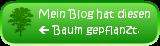 Mein Babykeks-Blog hat eine Robinie gepflanzt.