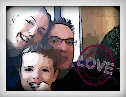Die Babykeks-Familie Ende 2012