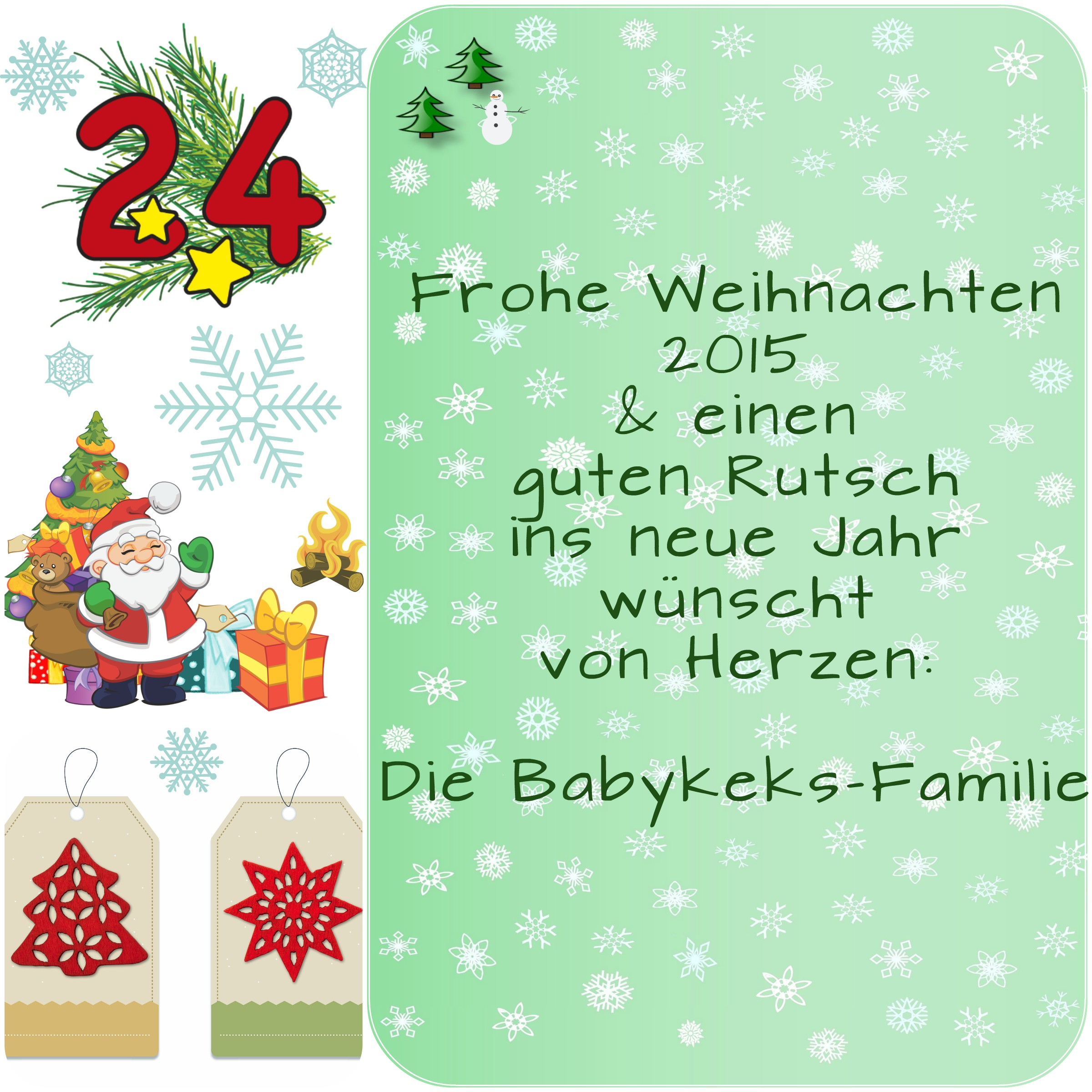 frohe weihnachten 2015 babykeks. Black Bedroom Furniture Sets. Home Design Ideas