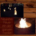 Neujahrs-Feuer & Familie