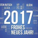 2017, sei herzlich willkommen