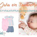 Juhu ein Sommerbaby! Meine Erstaustattungs-Geschenke-Tipps