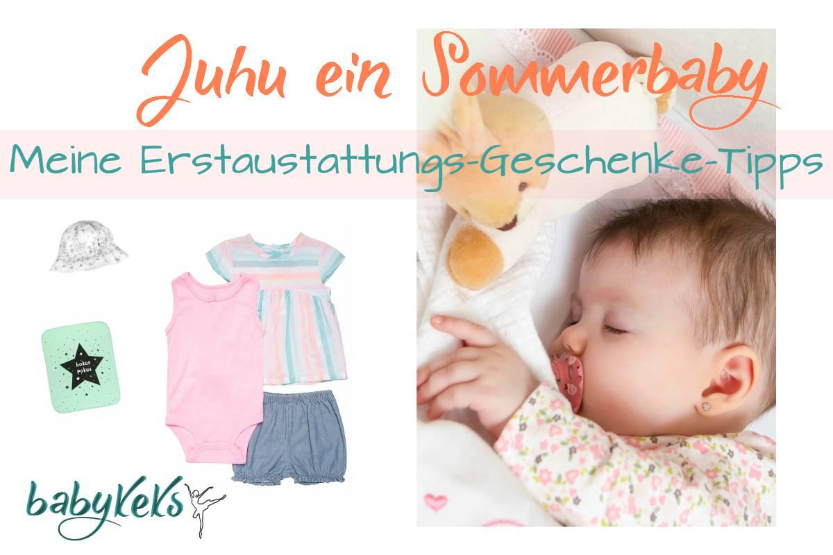 Erstausstattung Sommerbaby
