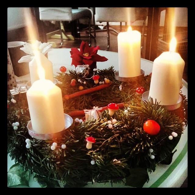 Die Babykeks-Familie wünscht euch allen einen wunderbaren 3.Advent.