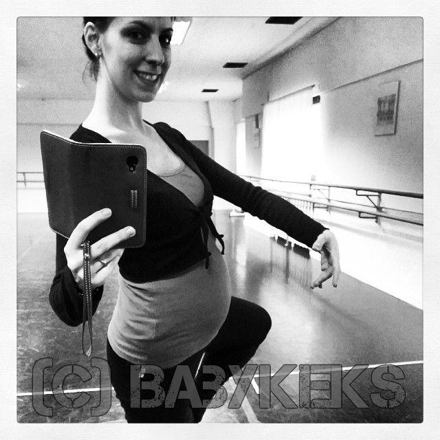 Baby 2.0 & ich schwingen gleich das Tanzbein ;) klassische Musik soll schließlich fördernd sein ;)