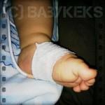 Babykrümels Klinikaufenthalt