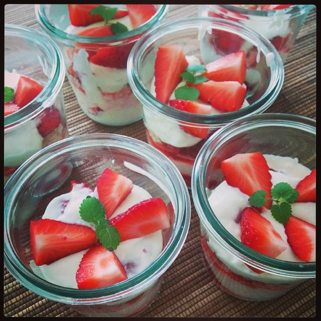 Lust auf ein fruchtig süßes Frühlings-Dessert?