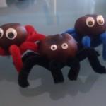 Kastanien-Spinnen