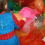 Spider-Keks feiert Fasching