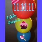 Babykeks' Geburtstagsparty