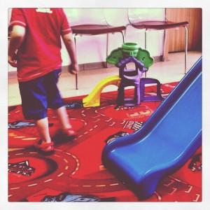 Kinderarzt Wartezimmer