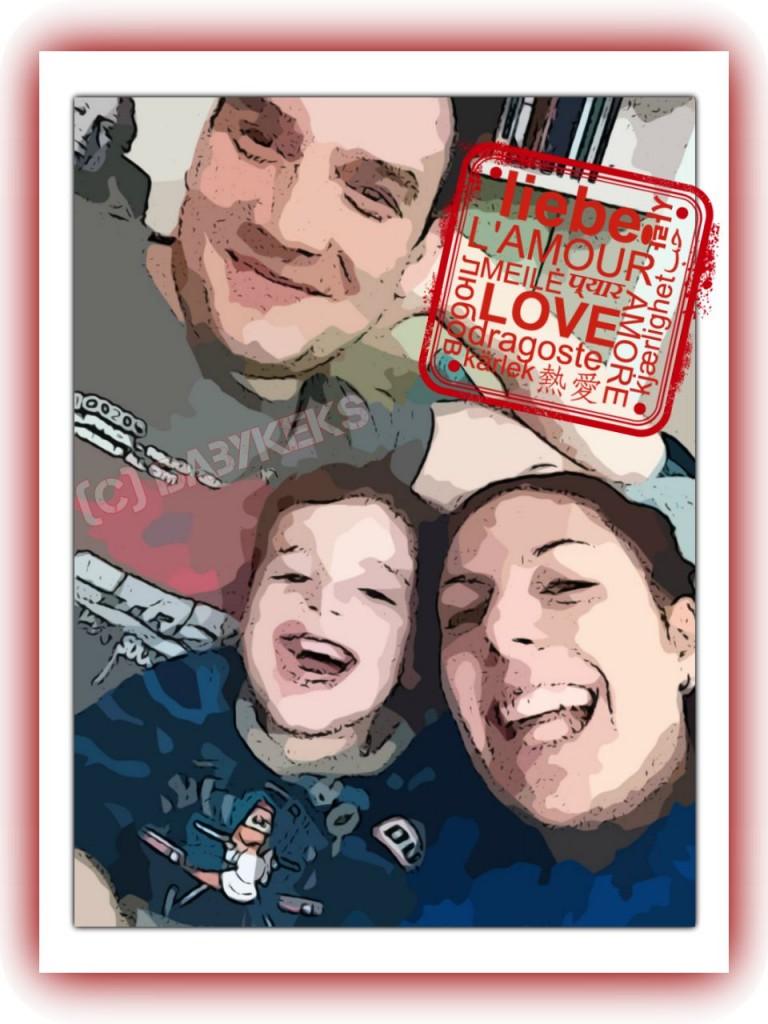 Die Babykeks-Familie Ende 2013