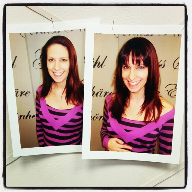 Vorher - Nachher Friseurbild. Was meint ihr - besser?