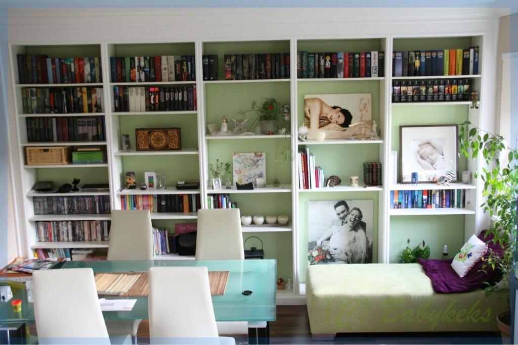 In jedem unserer Räume befinden sich viele Bücher (außer in den Bädern da liegen die Zeitschriften) :-)
