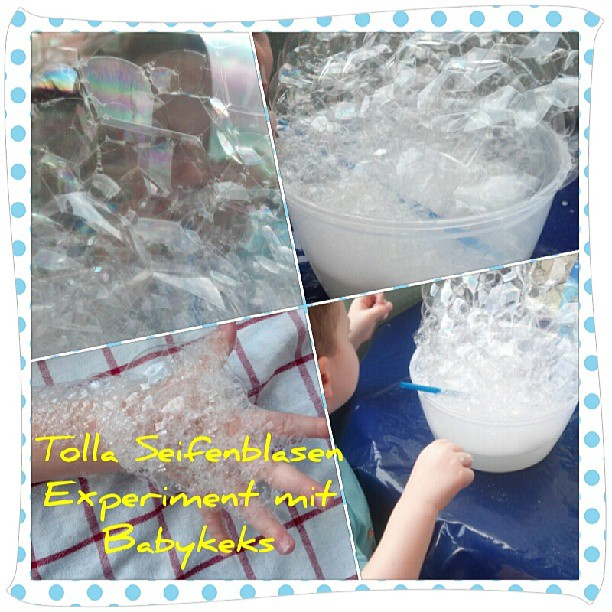 Tolla Seifenblasen Experiment