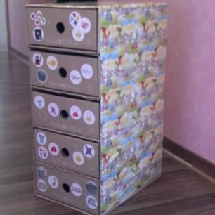 TOLLA Container (selbst gemacht aus den monatlichen Tolla-Abo-Boxen)